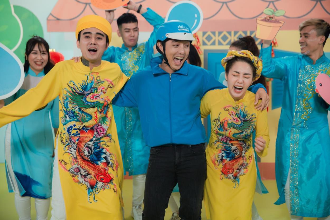 MV Tết mà muôn màu như này thì ai mà chịu nổi đây Han Sara, Suni, Đạt G - Du Uyên ơi? - Ảnh 9.