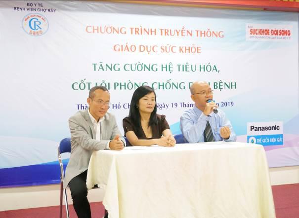 Thế Giới Điện Giải cùng BV Chợ Rẫy tổ chức hội thảo sức khỏe hệ tiêu hóa - Ảnh 1.