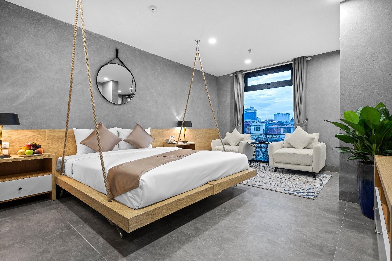"""Phát hiện khách sạn thiết kế độc đáo nhìn là muốn """"yêu"""" ngay giữa trung tâm Hà Nội - Ảnh 6."""