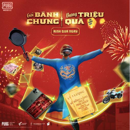 Gamers háo hức với event Gói bánh chưng xanh PUBG Mobile dành riêng cho Việt Nam mùa Tết năm nay - Ảnh 2.