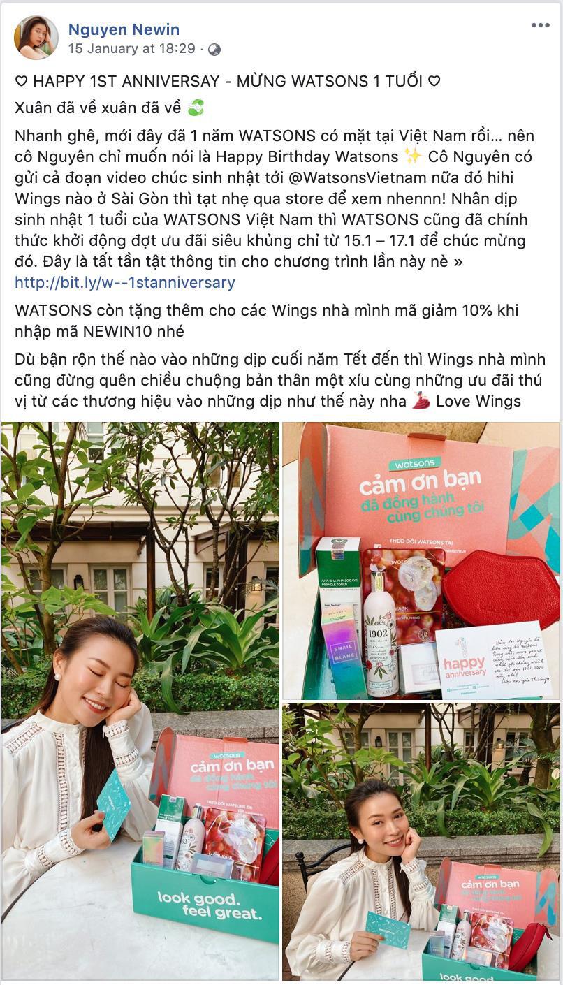 Kỷ niệm 1 năm có mặt tại Việt Nam, Watsons tri ân khách hàng với Private Sales xịn sò - Ảnh 4.