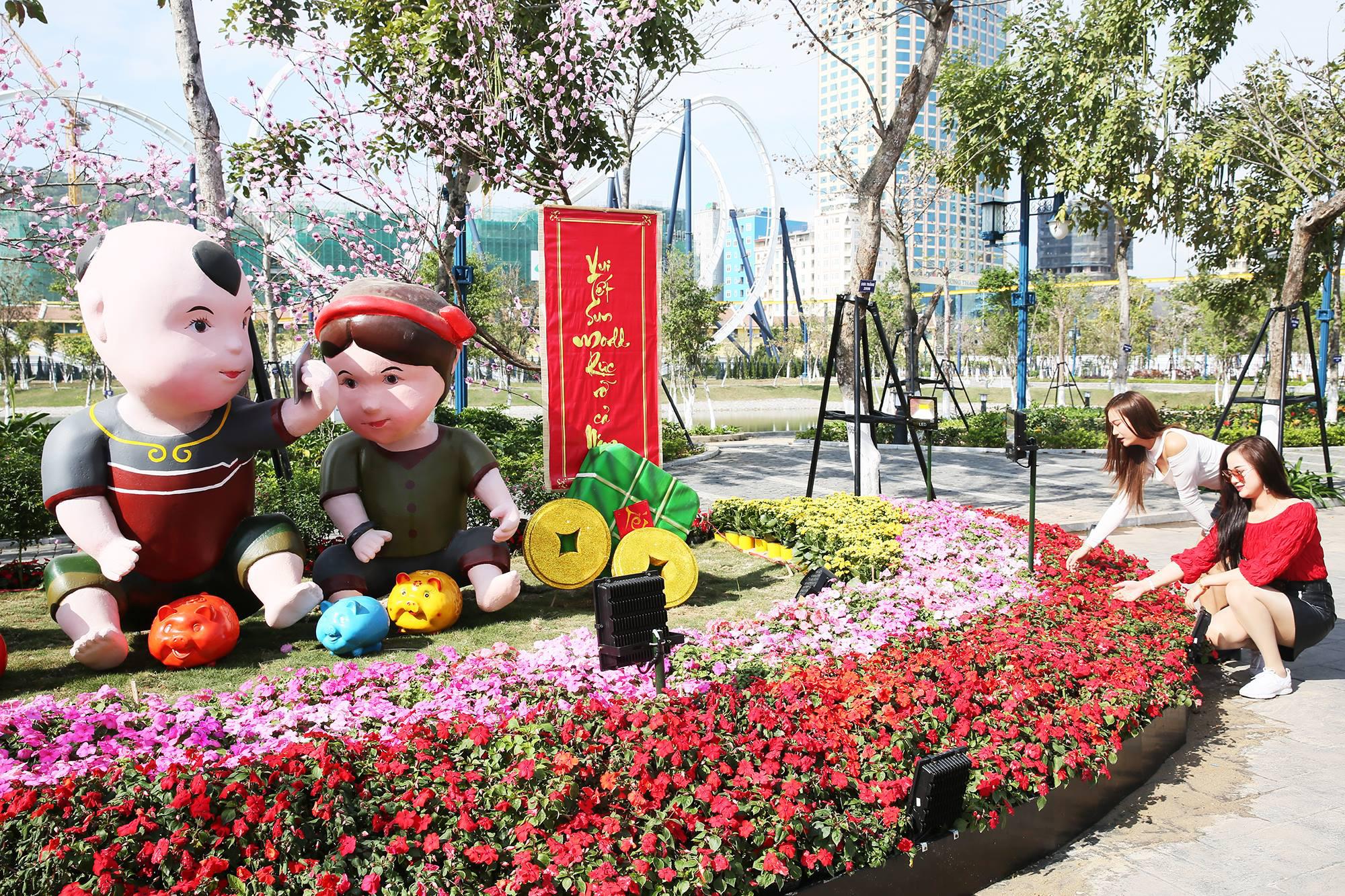 Tưng bừng đón Tết với nhiều chương trình đặc sắc tại Sun World Halong Complex - Ảnh 2.