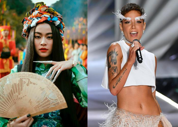 Hoàng Thuỳ Linh và Trọng Hiếu tham dự sự kiện nghệ thuật đẳng cấp quốc tế tại Mỹ cùng Halsey và The Black Eyed Peas - Ảnh 2.