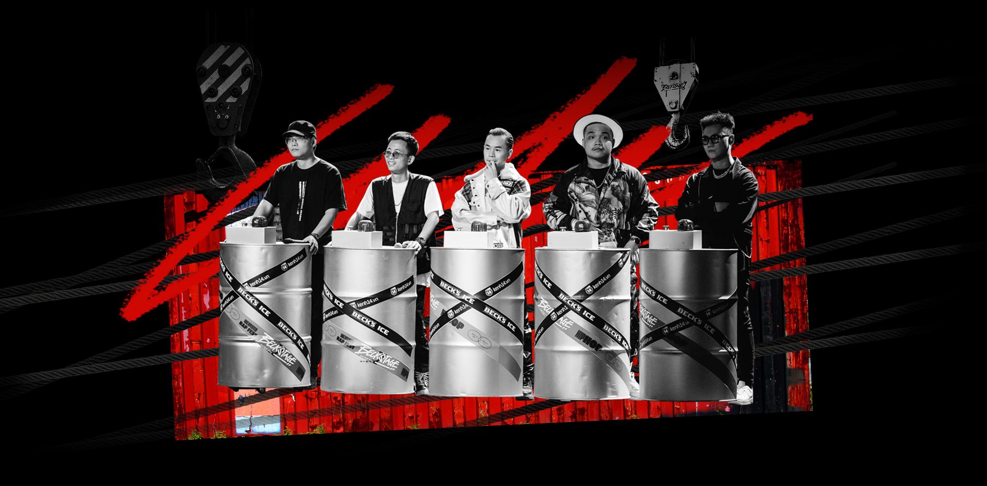 BeckStage - Unexpected Rap Fest: đòn bẩy thép đưa Underground tới gần công chúng - Ảnh 2.