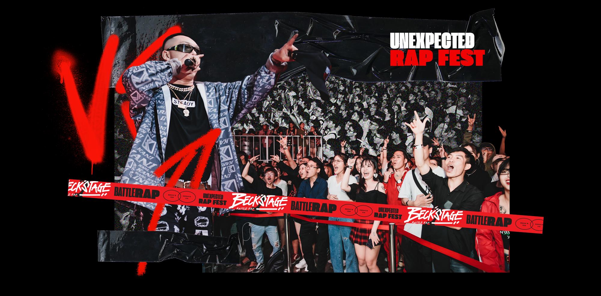 BeckStage - Unexpected Rap Fest: đòn bẩy thép đưa Underground tới gần công chúng - Ảnh 4.