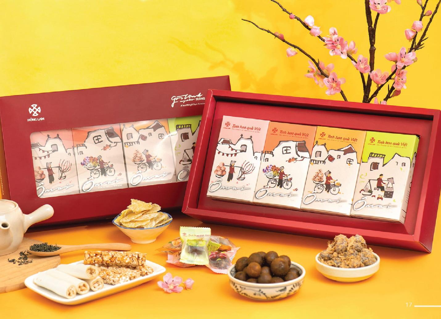 Sát Tết, phải chuẩn bị chọn ngay những bộ quà tuyệt phẩm từ ô mai Hồng Lam - Ảnh 1.
