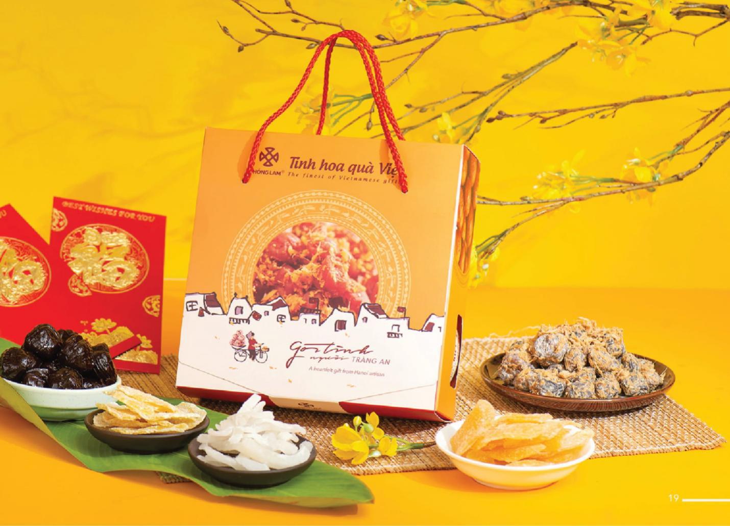 Sát Tết, phải chuẩn bị chọn ngay những bộ quà tuyệt phẩm từ ô mai Hồng Lam - Ảnh 4.