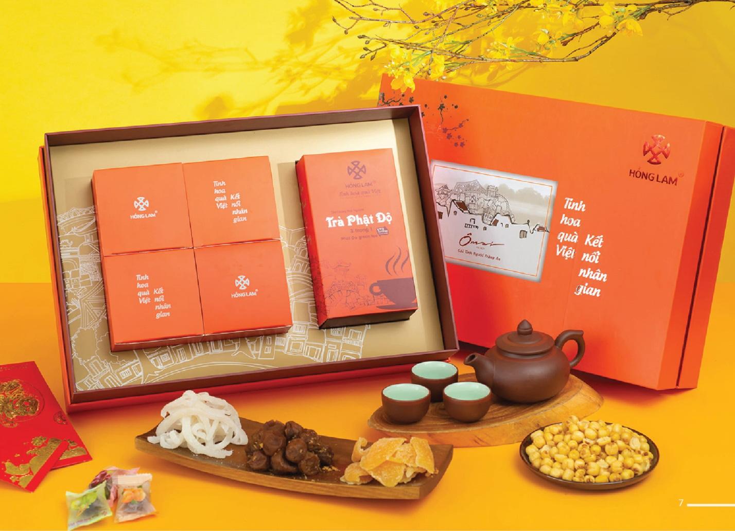Sát Tết, phải chuẩn bị chọn ngay những bộ quà tuyệt phẩm từ ô mai Hồng Lam - Ảnh 5.