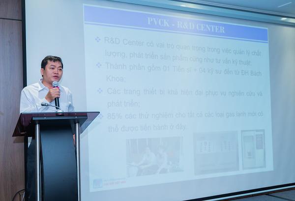 Dầu Khí Việt Hàn cam kết đồng hành cùng quý đối tác và đại lý - Ảnh 1.