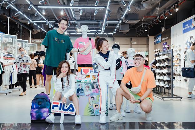 FILA mở cửa hàng tại Hà Nội, thỏa mãn khát khao thời trang đường phố của giới trẻ Hà Thành - Ảnh 4.