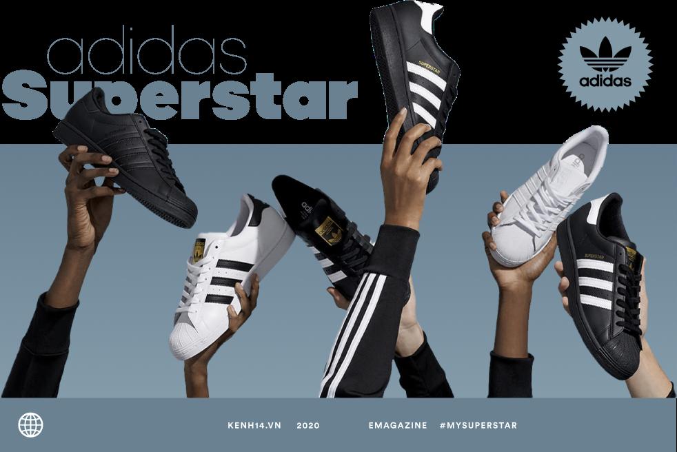 adidas Superstar: Siêu sao của nền văn hóa sát mặt đất và hành trình 50 năm rực rỡ - Ảnh 3.