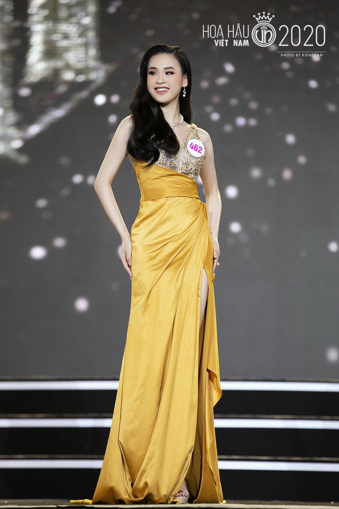 Quyến rũ trong từng đường nét, người đẹp hàng không đi tiếp vào Chung kết Hoa hậu Việt Nam 2020 - Ảnh 6.