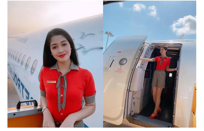 Quyến rũ trong từng đường nét, người đẹp hàng không đi tiếp vào Chung kết Hoa hậu Việt Nam 2020 - Ảnh 8.