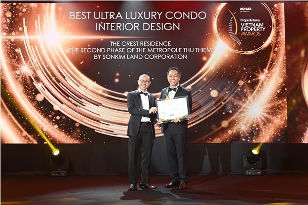 SonKim Land giành chuỗi giải thưởng lớn tại Giải thưởng Bất động sản Việt Nam 2020 - Ảnh 1.