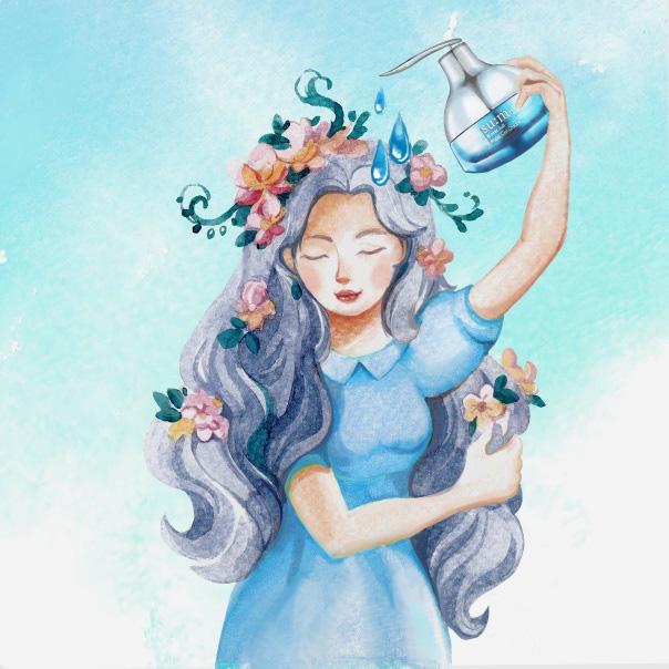 Bộ tranh đáng yêu làm dịu mát tâm hồn cho những cô nàng hiện đại - Ảnh 2.