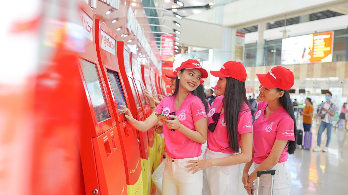 Dàn thí sinh xuất sắc vòng Chung kết Hoa hậu Việt Nam 2020 lên đường thực hiện nhiệm vụ nhân ái - Ảnh 5.