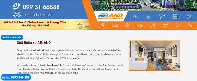 AE Land – Công ty chuyên phân phối, mua - bán BĐS phía Tây Hà Nội - Ảnh 2.