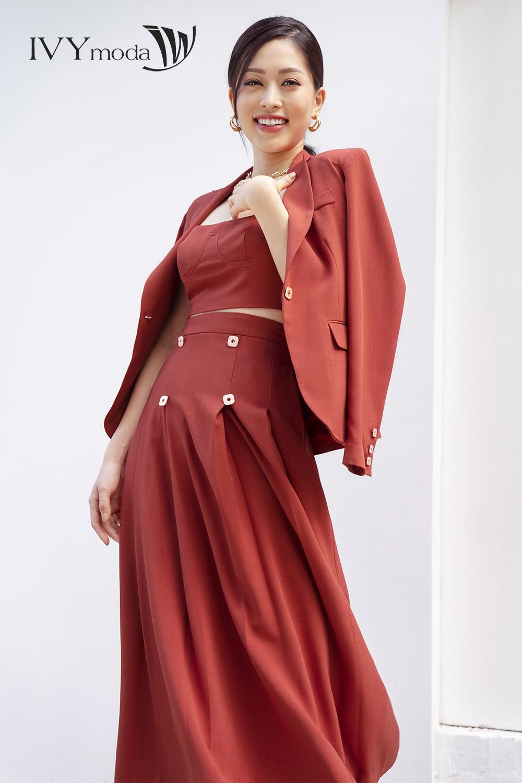 Á hậu Tài sắc vẹn toàn Phương Nga thông minh tinh tế trong lựa chọn trang phục - Ảnh 7.