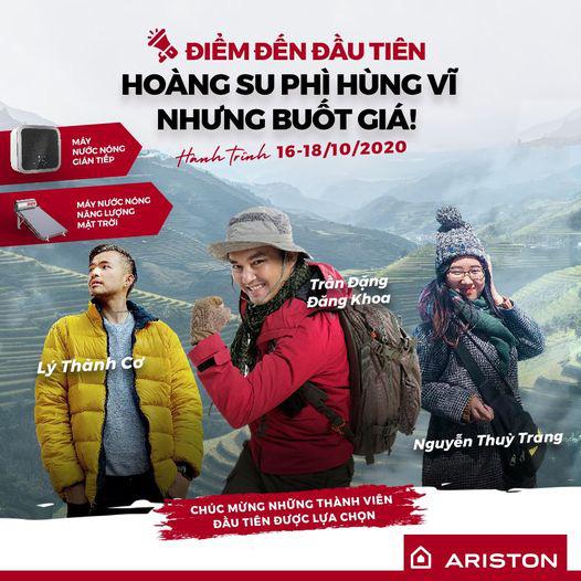 Biệt đội Ariston hé lộ thông tin đầu tiên trong hành trình xuyên Việt - Ảnh 1.