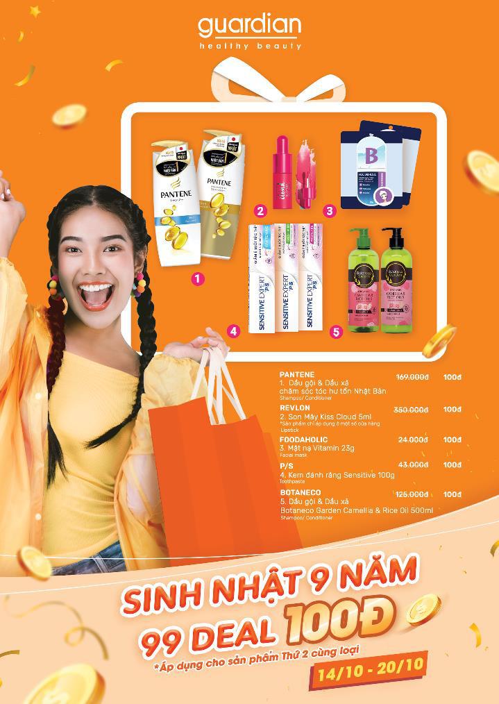 Không cần đợi đến 11/11 hay Black Friday mới sắm mỹ phẩm, siêu sale ưu đãi 100đ đang diễn ra tưng bừng tại Guardian ngay bây giờ! - Ảnh 3.