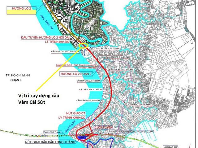 Những công trình hạ tầng được kỳ vọng thay đổi diện mạo phía Đông TP.HCM - Ảnh 2.