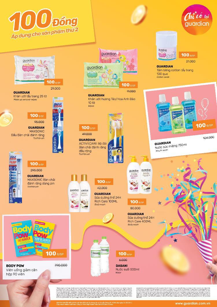 Không cần đợi đến 11/11 hay Black Friday mới sắm mỹ phẩm, siêu sale ưu đãi 100đ đang diễn ra tưng bừng tại Guardian ngay bây giờ! - Ảnh 6.