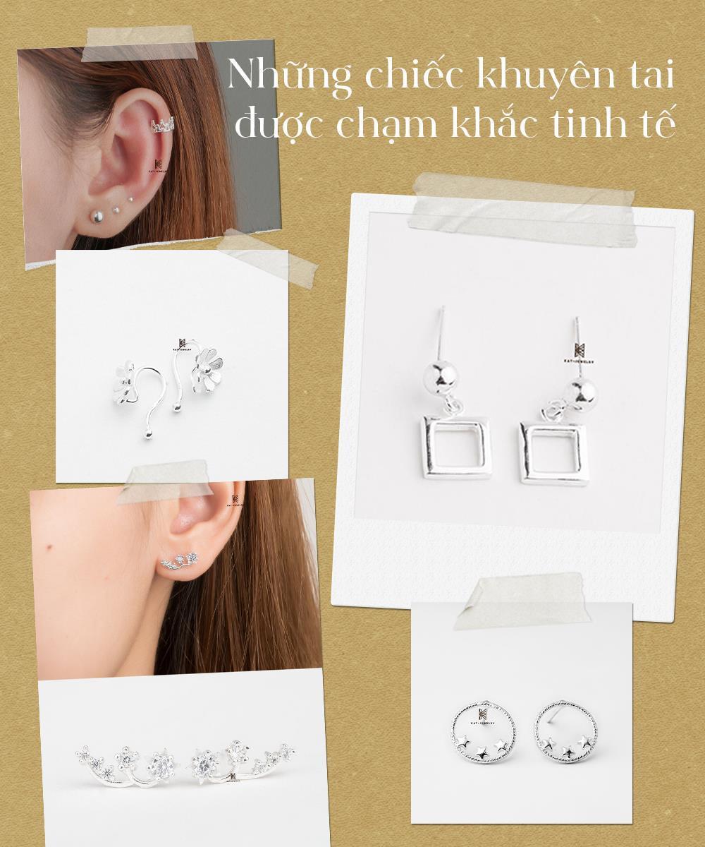 Gợi ý quà tặng trang sức bạc cao cấp trên dưới 200k - lựa chọn tinh tế cho phái đẹp dịp 20/10! - Ảnh 2.