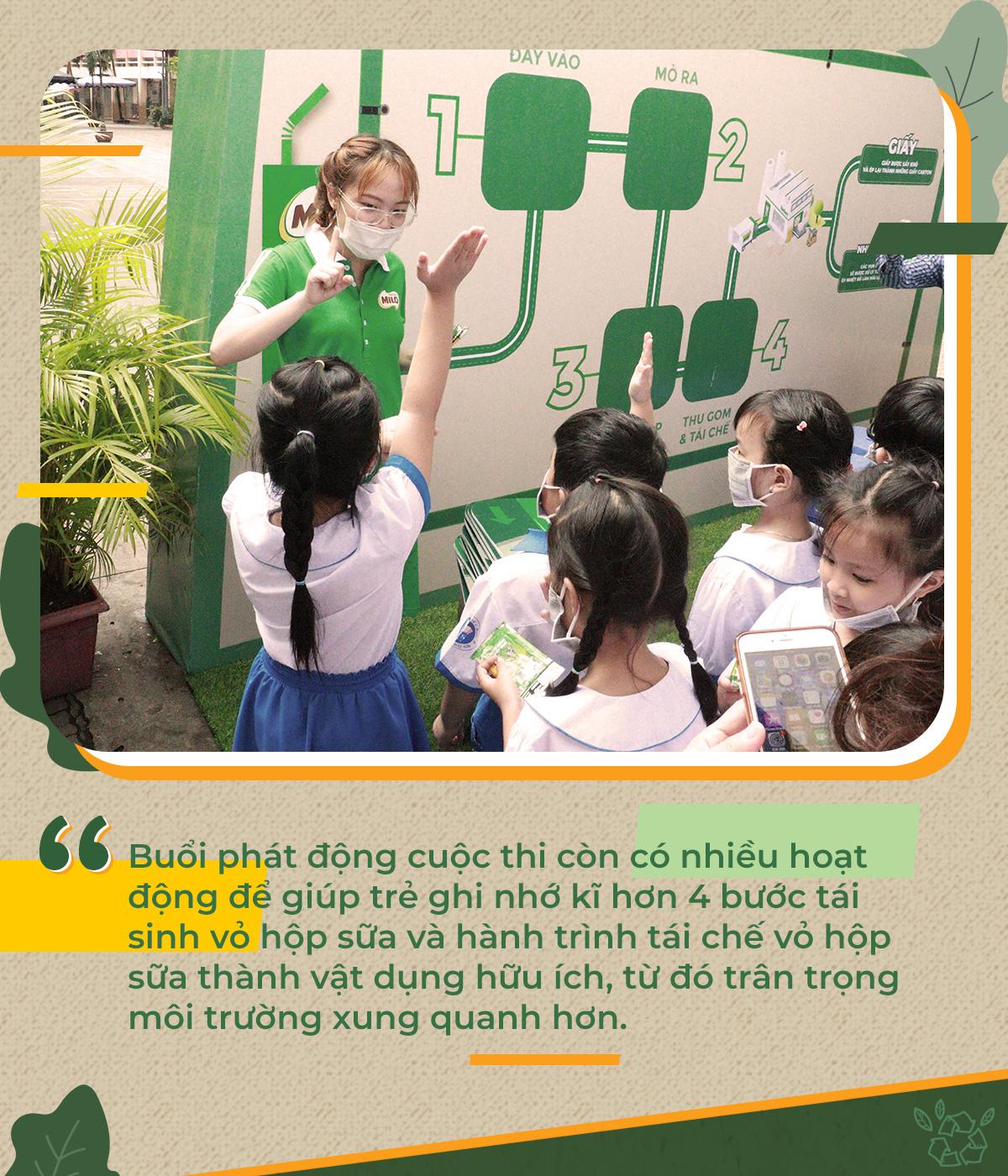 """Nghe 280.000 bạn nhỏ hào hứng kể chuyện tái sinh vỏ hộp sữa, mở ra """"hành trình xanh"""" vì môi trường - Ảnh 4."""