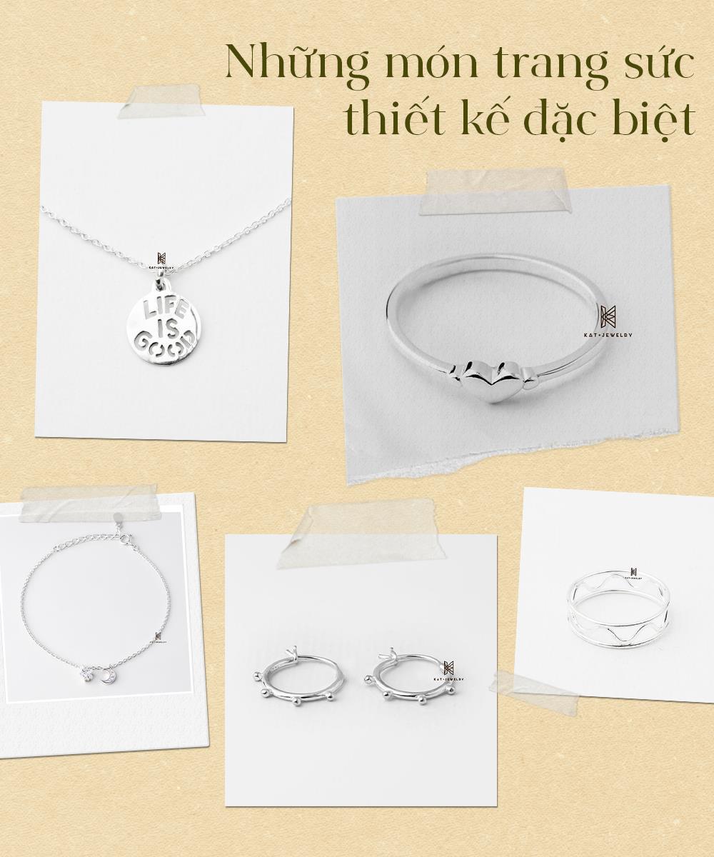 Gợi ý quà tặng trang sức bạc cao cấp trên dưới 200k - lựa chọn tinh tế cho phái đẹp dịp 20/10! - Ảnh 5.