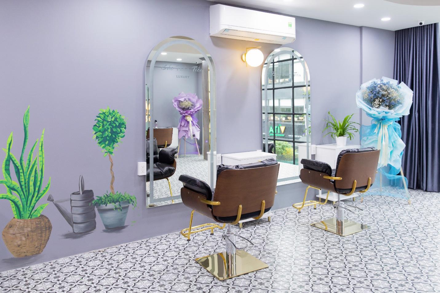Bắc Trần Tiến - Chuỗi salon hiện đại, cực hot được nhiều nghệ sĩ yêu thích - Ảnh 5.