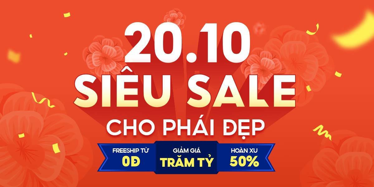 Chào mừng Ngày Phụ nữ Việt Nam - Shopee tung mưa ưu đãi độc quyền dành tặng phái đẹp - Ảnh 1.