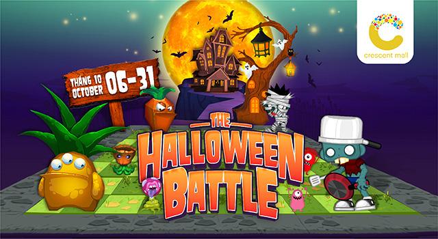 Binh đoàn quái vật cùng so găng mùa Halloween - Tháng 10 này tại Crescent Mall - Ảnh 1.