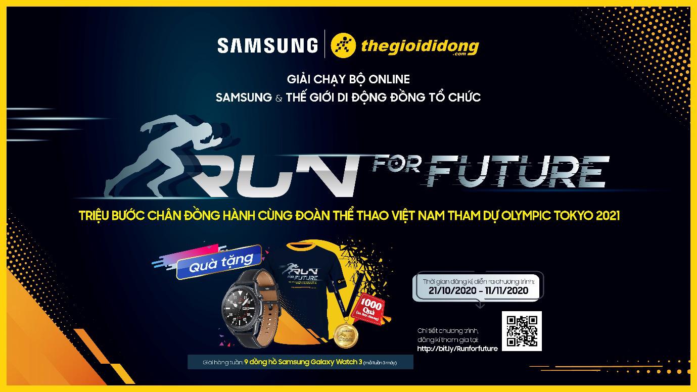 Cơ hội nhận ngay Samsung Galaxy Watch3 khi tham gia giải chạy bộ online do Thế Giới Di Động tổ chức - Ảnh 3.