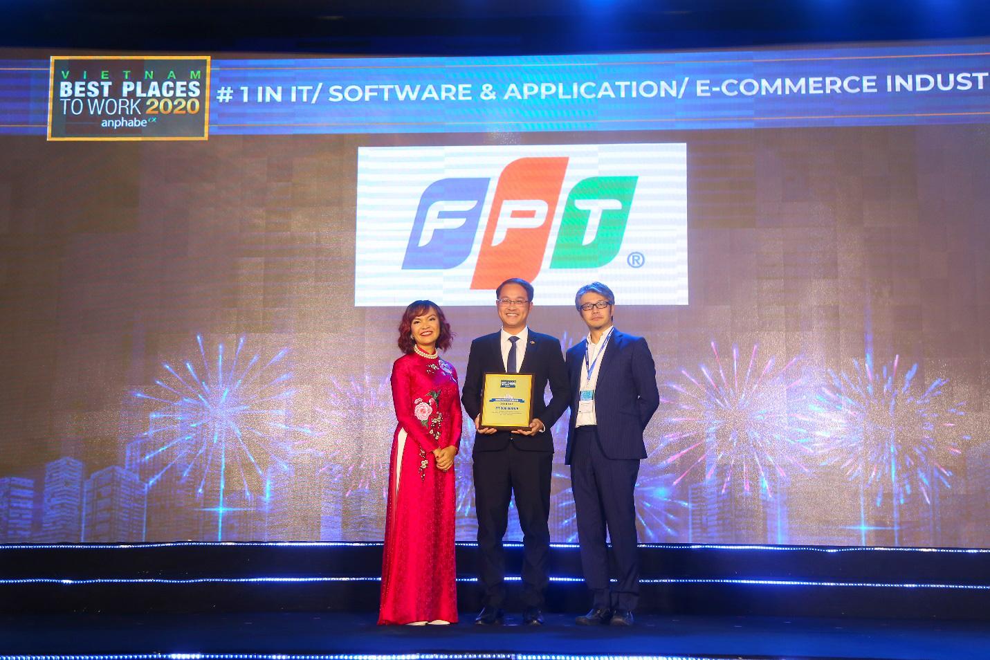 Tạo điều kiện phát triển tài năng và sáng tạo, FPT là nơi làm việc tốt nhất ngành công nghệ thông tin - Ảnh 1.