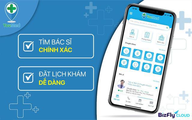 Nhìn lại thành công vượt trội của app y tế YouMed khi áp dụng BizFly CDN - Ảnh 1.
