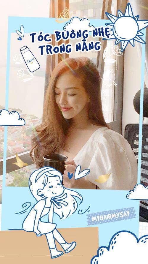 Thảo Nhi Lê, Hana Giang Anh, Julia Doan… khoe mái tóc ngẫu hứng, giản dị mà đẹp bất ngờ - Ảnh 4.