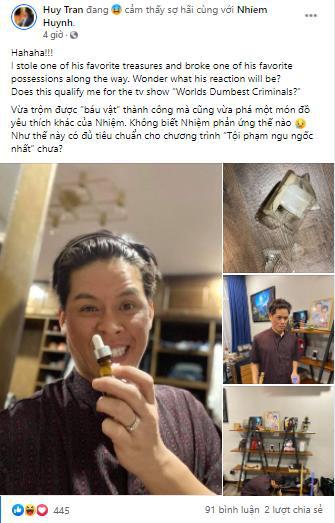 """Xuống cấp, John Huy Trần lừa cả """"vợ"""", cầu lấy lại nhan sắc - Ảnh 6."""