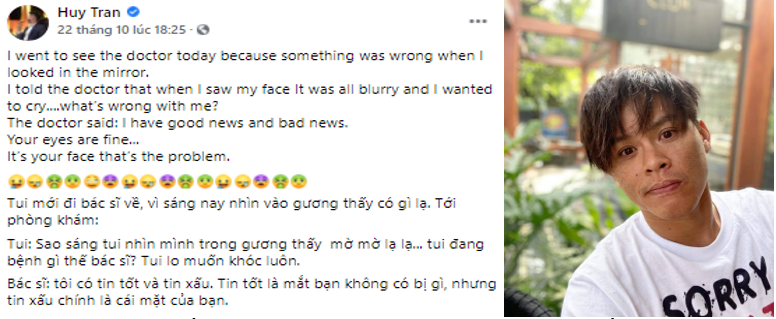 """Xuống cấp, John Huy Trần lừa cả """"vợ"""", cầu lấy lại nhan sắc - Ảnh 1."""