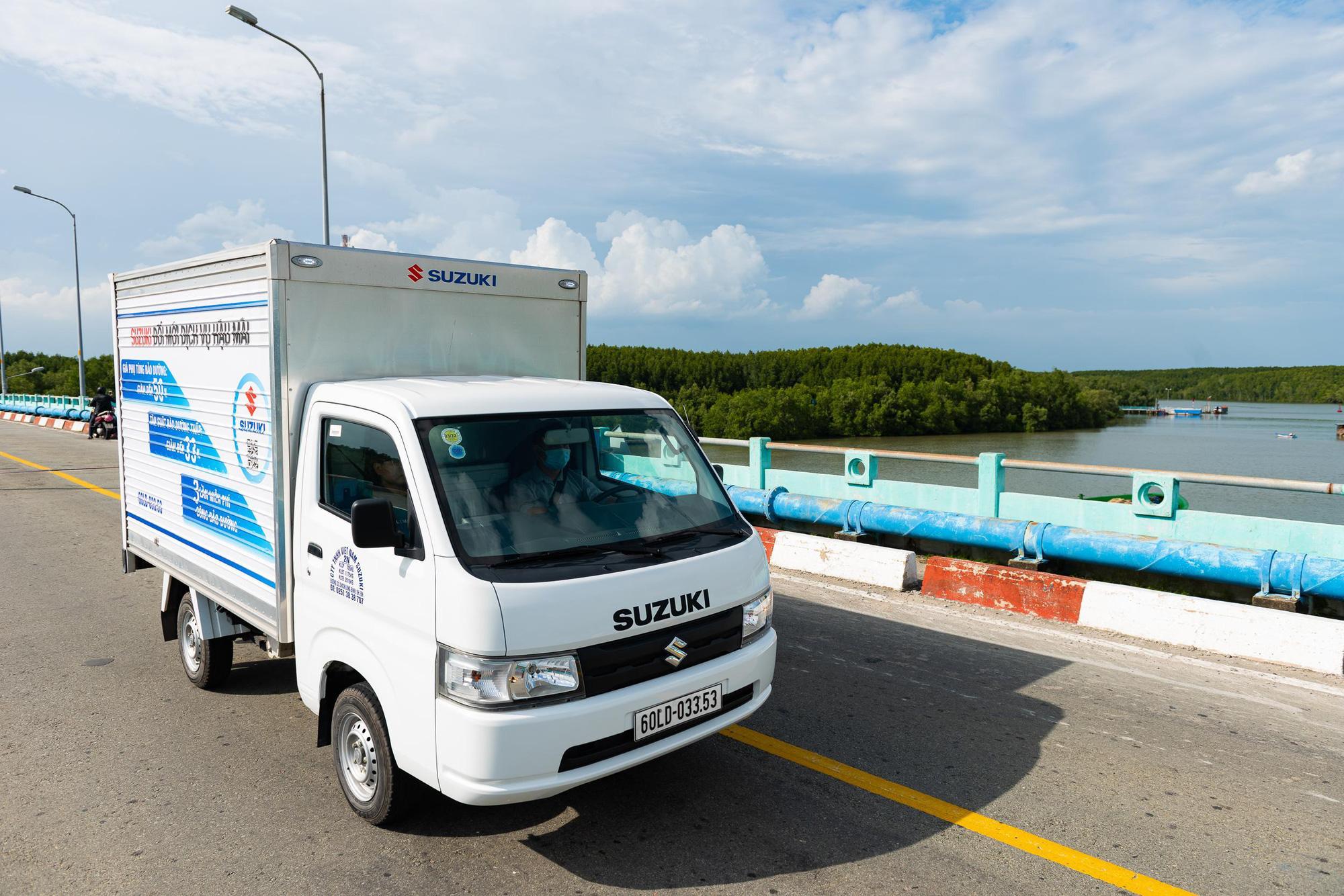 Suzuki Super Carry Pro - vua xe tải nhẹ được nhiều người tiêu dùng Việt lựa chọn