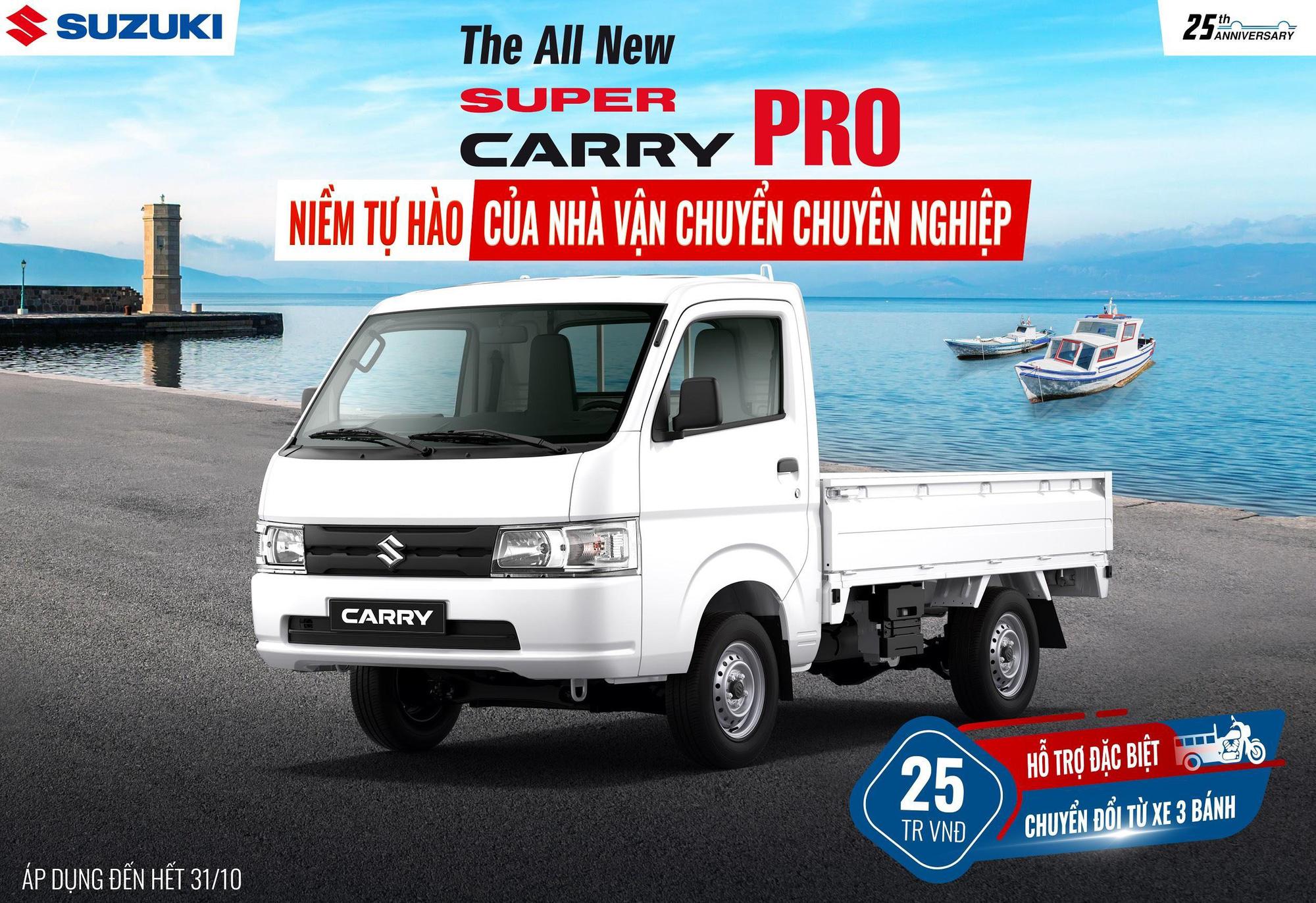 Ưu đãi hấp dẫn trong tháng 10 dành cho dòng xe tải nhẹ Super Carry Pro