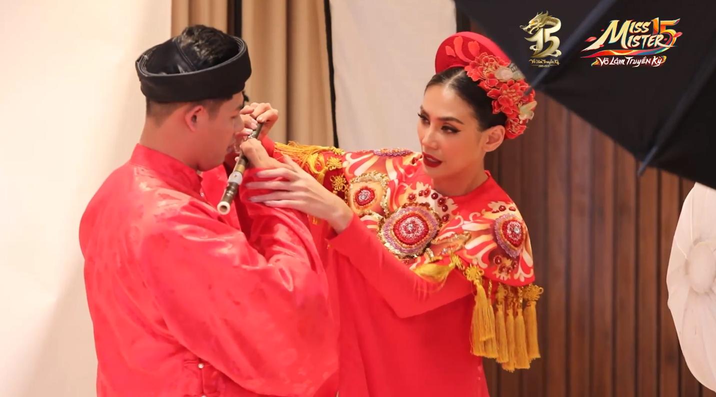 Tập 2 Chung kết Miss & Mister VLTK 15: Sự xuất hiện của siêu mẫu Võ Hoàng Yến và buổi tiệc bất ngờ tại nhà chung - Ảnh 5.