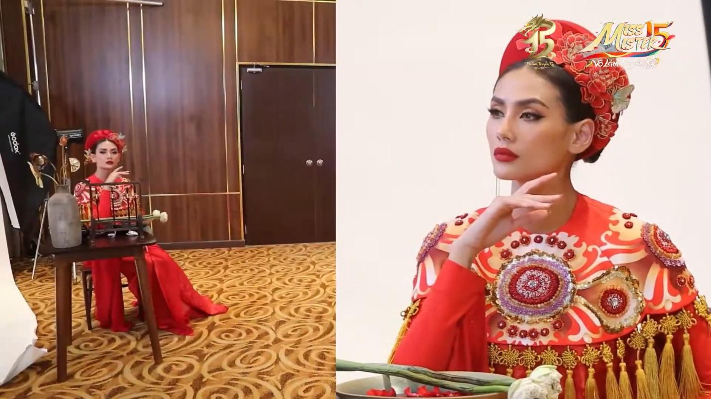 Tập 2 Chung kết Miss & Mister VLTK 15: Sự xuất hiện của siêu mẫu Võ Hoàng Yến và buổi tiệc bất ngờ tại nhà chung - Ảnh 6.