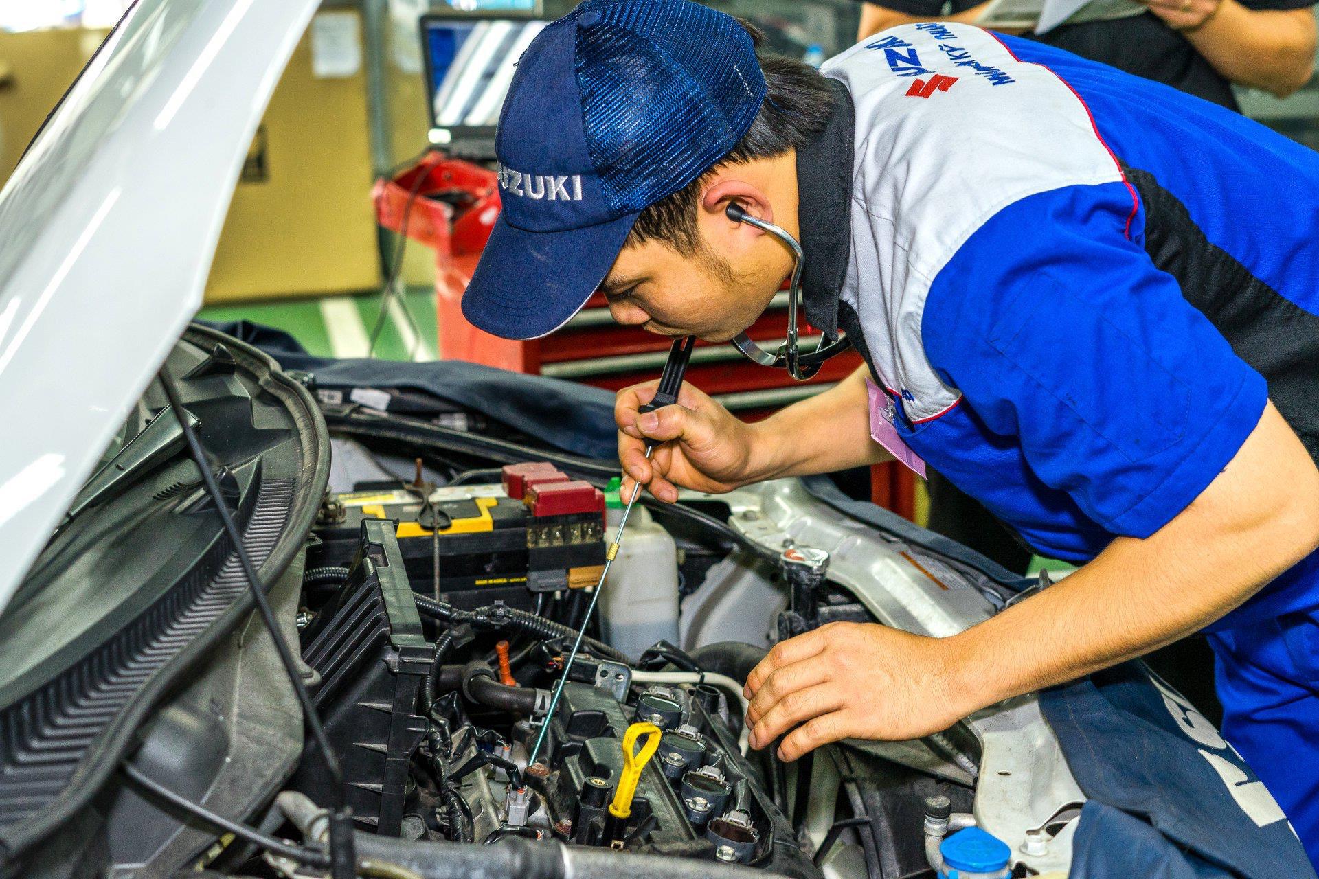 Việt Nam Suzuki luôn coi khách hàng là ưu tiên hàng đầu và tiếp tục triển khai cuộc cách mạng hậu mãi.