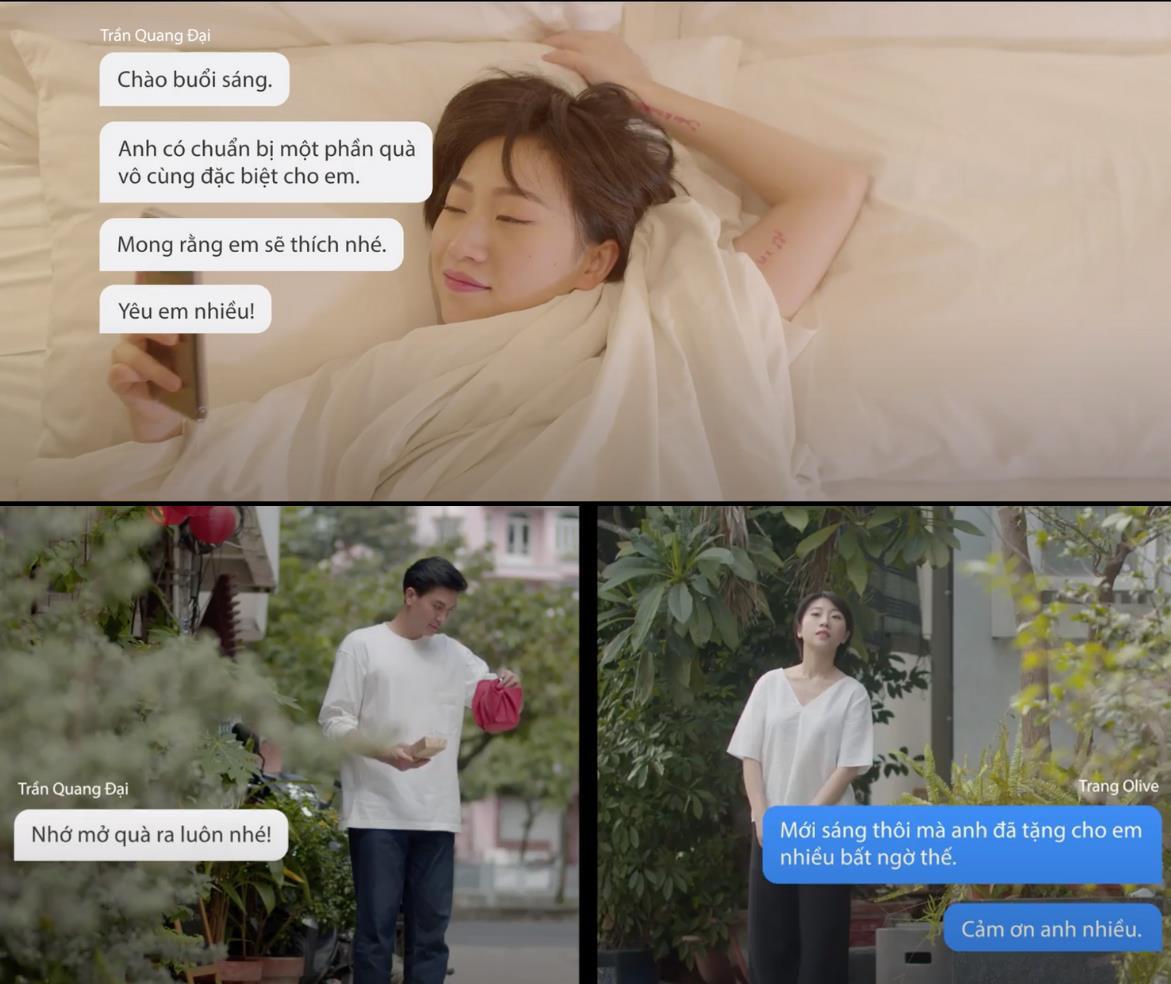 Chẳng phải fan girl cũng bị Quang Đại đốn tim sau loạt hành động ngọt ngào trong video sống xanh cùng Trang Olive - Ảnh 1.
