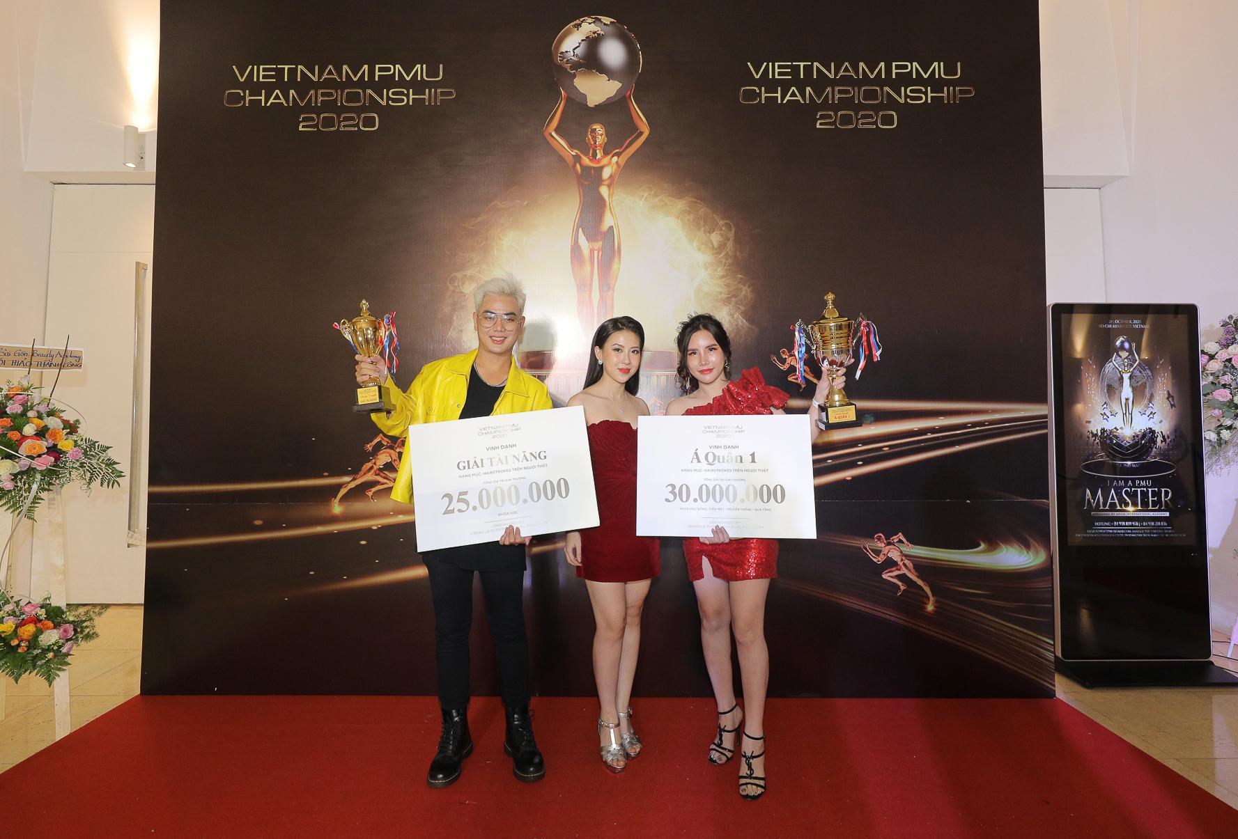 Học viên Hairstrokes của Hương Trà đạt giải cao trong cuộc thi PMU 2020 - Ảnh 1.