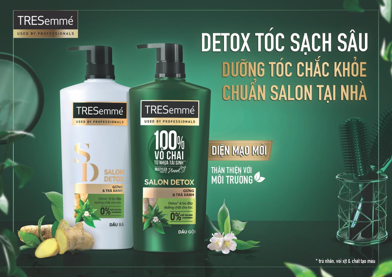 Cùng TRESemmé giải mã trào lưu detox tóc mùa cuối năm - Ảnh 3.