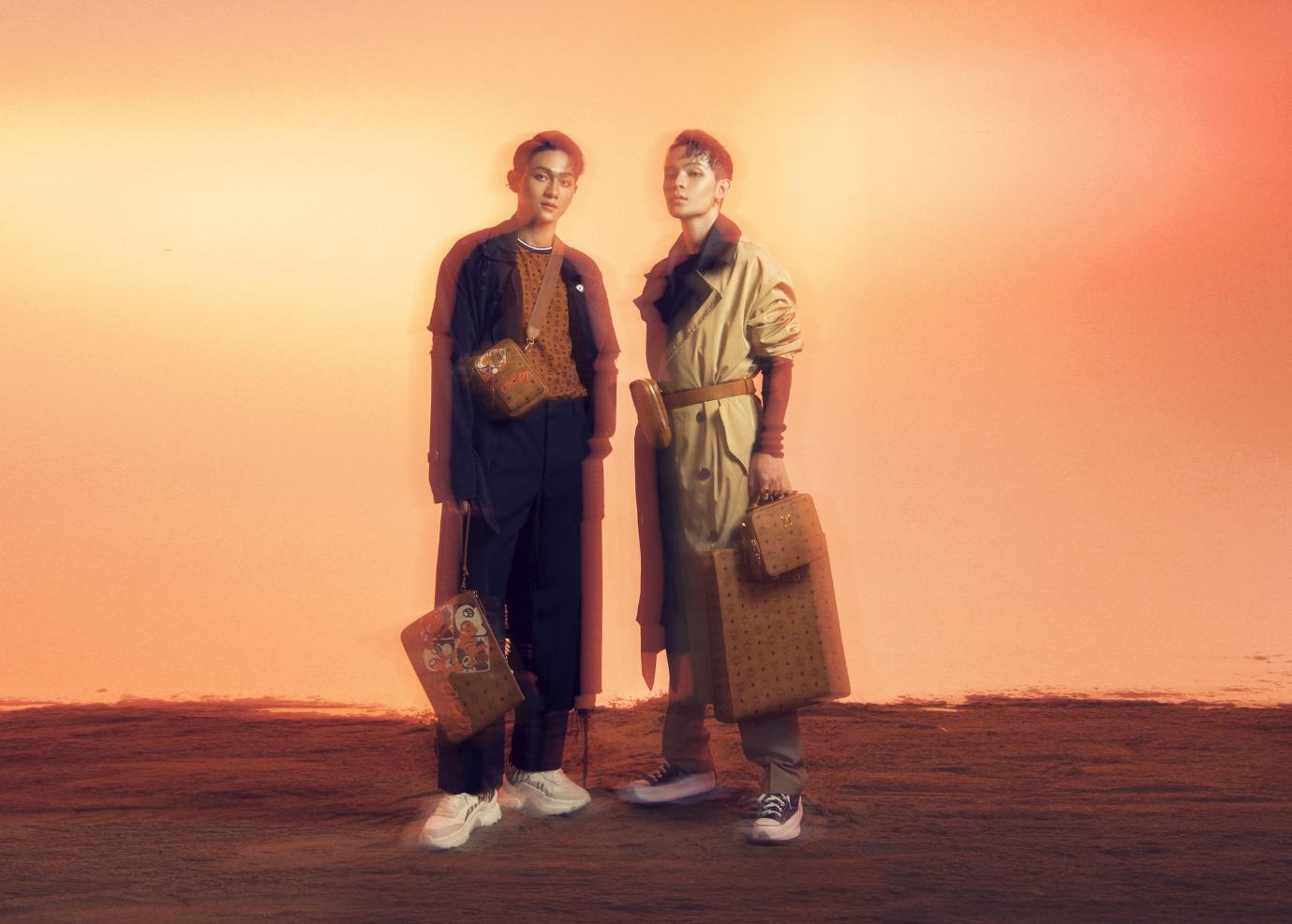 Fashionisto Kelbin Lei biến tấu ấn tượng BST Thu Đông 2020 của thương hiệu MCM - Ảnh 3.