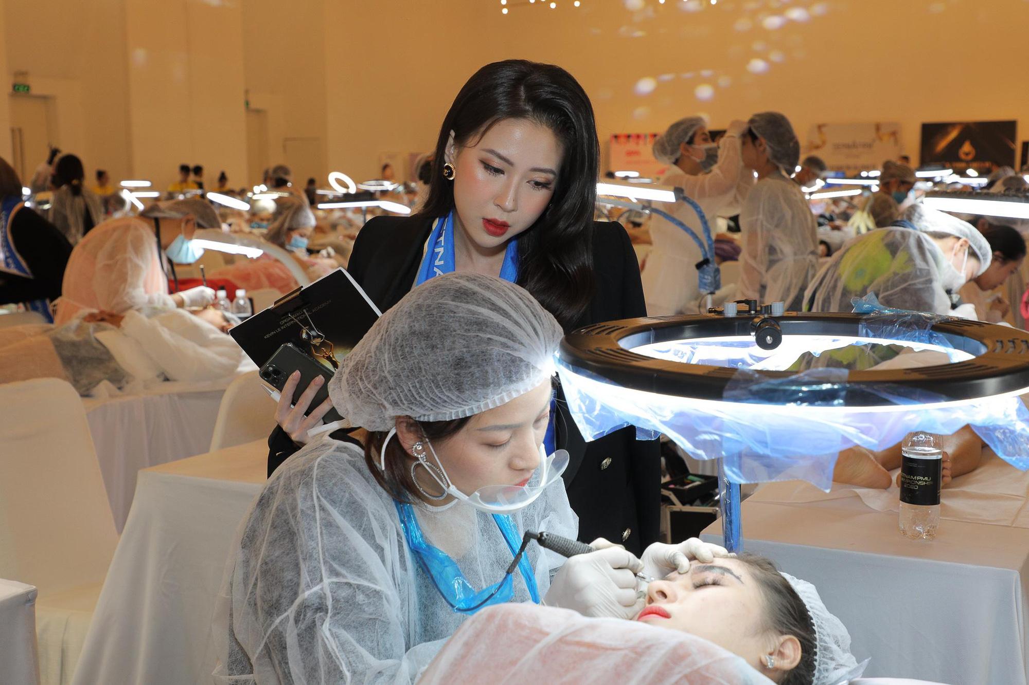 Học viên Hairstrokes của Hương Trà đạt giải cao trong cuộc thi PMU 2020 - Ảnh 4.
