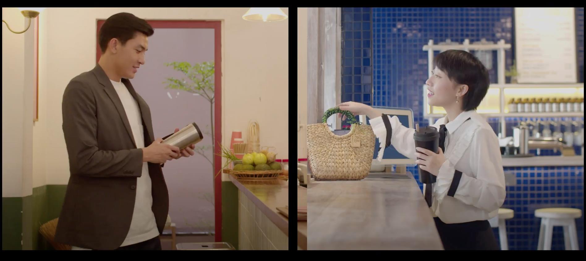 Chẳng phải fan girl cũng bị Quang Đại đốn tim sau loạt hành động ngọt ngào trong video sống xanh cùng Trang Olive - Ảnh 7.