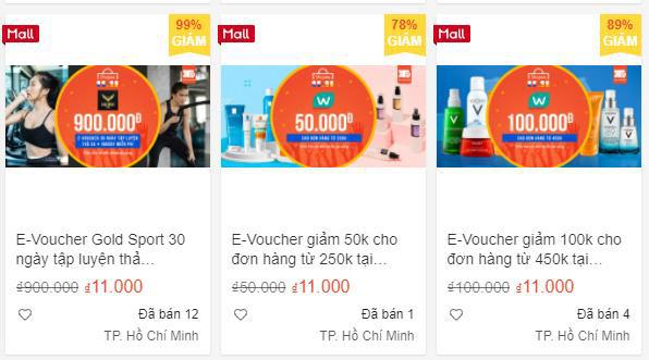 Phiếu mua hàng trị giá 100.000 đồng trên Shopee có giá chỉ 11.000 đồng, bạn thử chưa? ` - ảnh 4